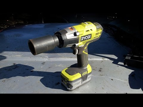 Ryobi P261 Impact Wrench Review