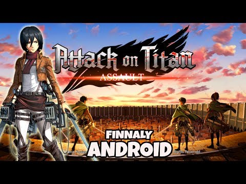 OMG AKHIRNYA ADA!! ATTACK ON TITAN ASSAULT GAMEPLAY ANDROID DOWNLOAD