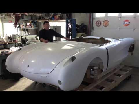 McLean's '57 Corvette Gasser Project (1. Wood Frame Mockup)