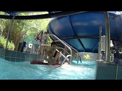 UFO Water Slide at Wet 'n Wild Orlando
