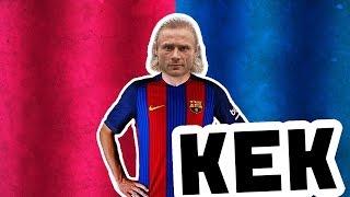 КЕК Юнайтед  Карпин в  Барселоне !