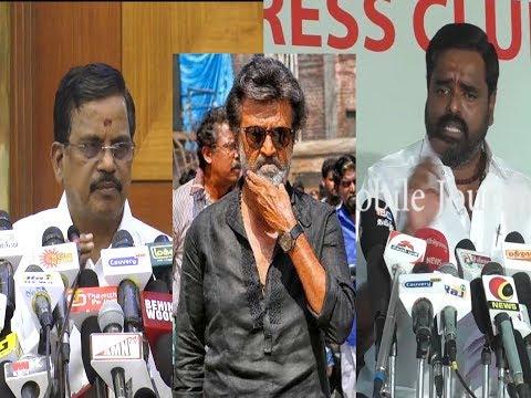 Kaala படம் வெளியாவதால் எனைக்கு குறியா..! Kalaippuli S Thanu Emotional Speech | Full Press Meet