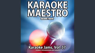 Can't Fight This Feeling (Karaoke Version) (Originally Performed by Reo Speedwagon)