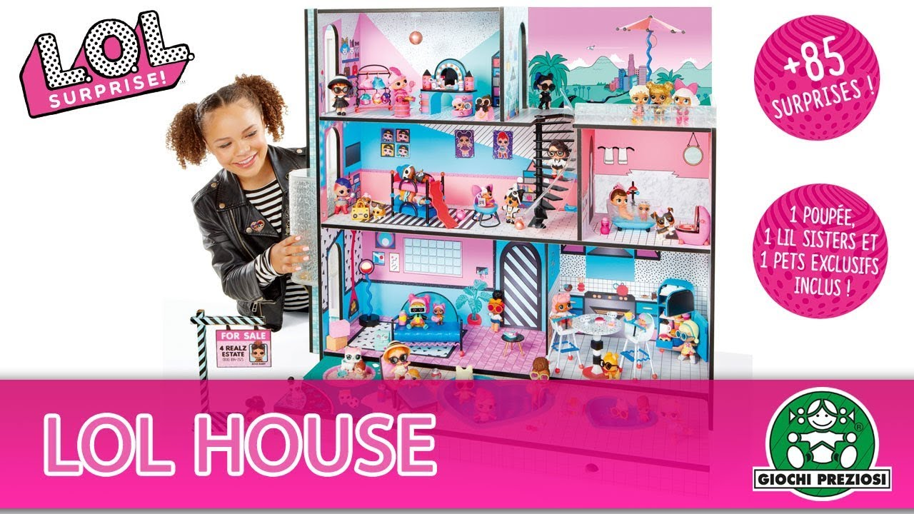 L.O.L Surprise / House / Pub TV / Giochi France