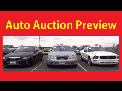 Car Dealer Auction Video Adesa Cars Auto Auctions Bidding & Preview #1