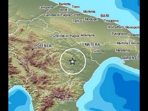 Sciame sismico, Piana