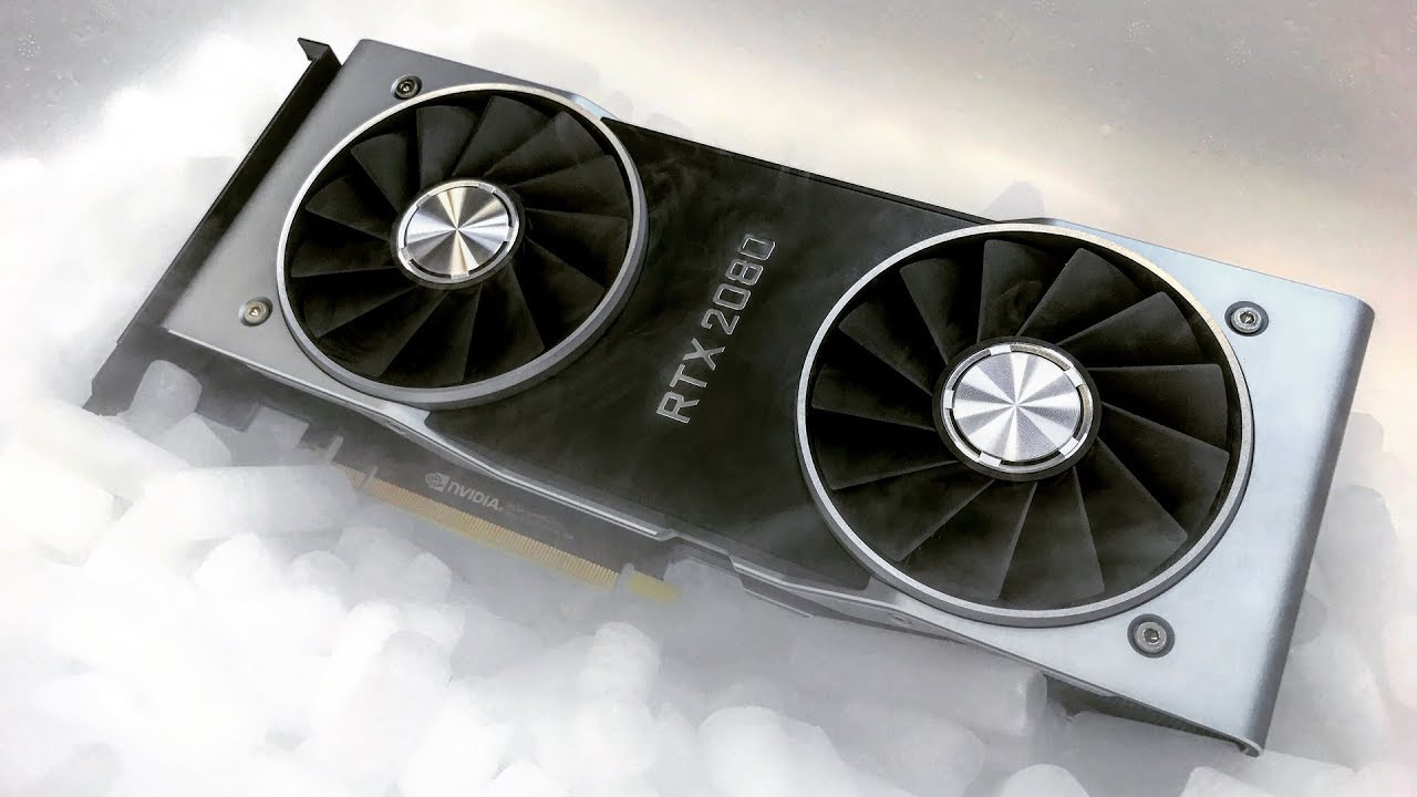 Nvidia GeForce RTX 2080 dry ice overclock draws some interesting