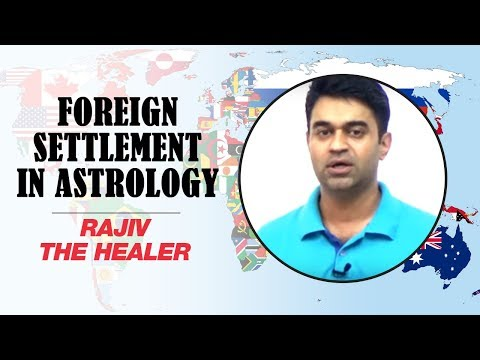 Foreign Settlement in Astrology | Rajiv The Healer