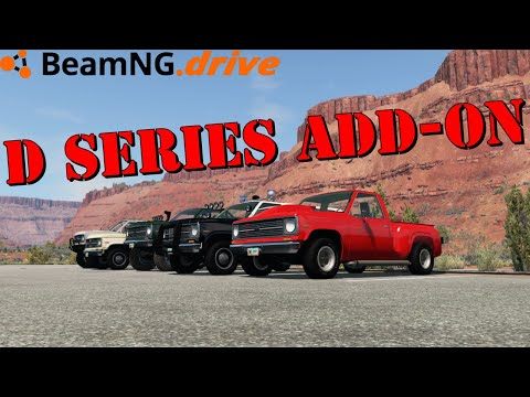 BeamNG.drive: D Series add-on |