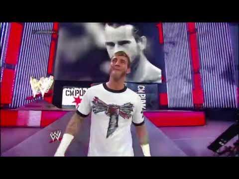 CM Punk Last Entrance Ever on Monday Night Raw: Raw, Jan 20. 2014 [HD]