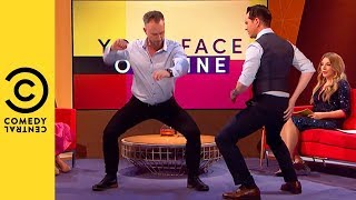 Jimmy Carr Learns A Sexy New Dance | Your Face Or Mine