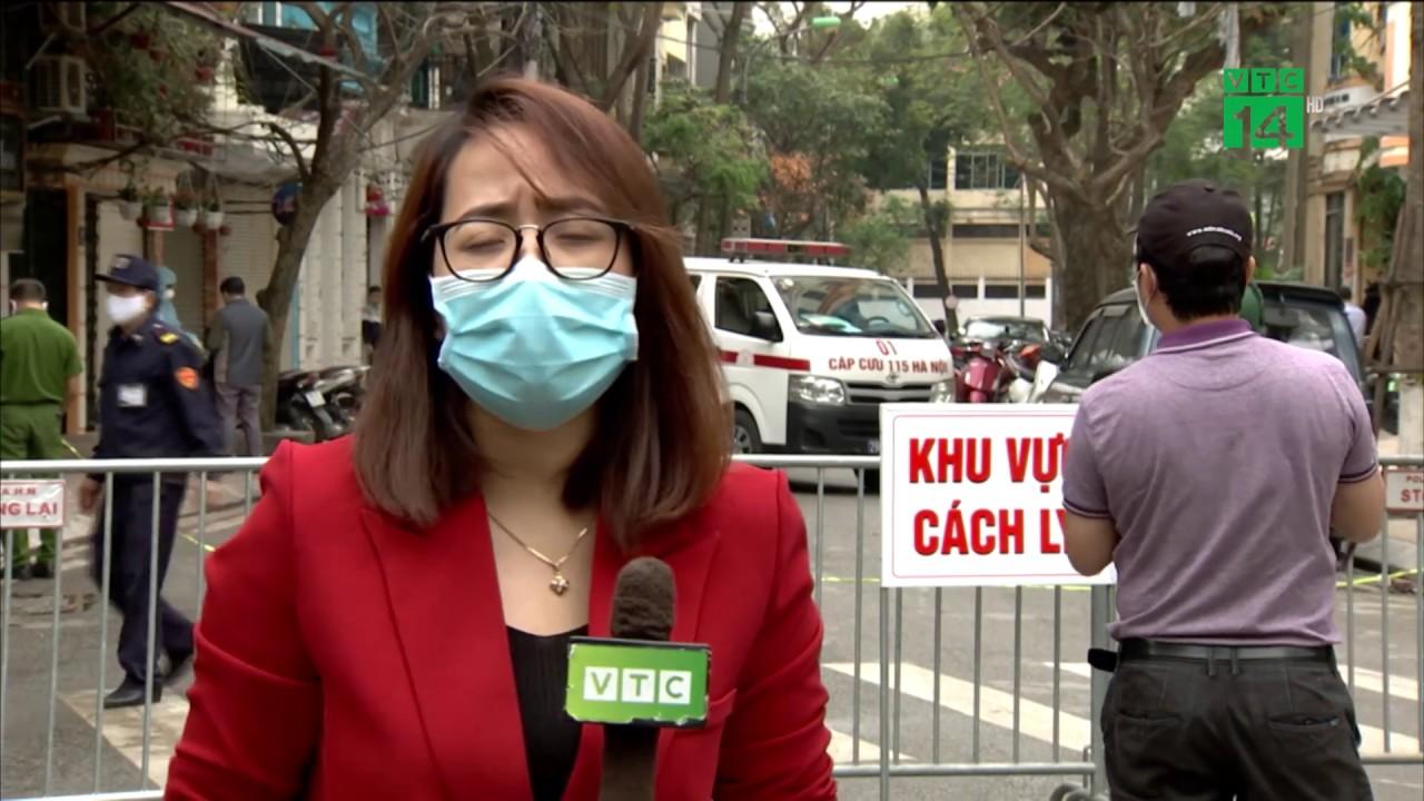 Hà Nội: Khử khuẩn, cách ly toàn bộ tuyến phố Trúc Bạch   VTC14