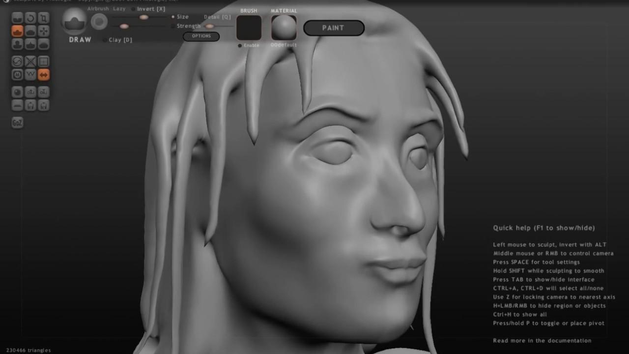 Modelado de Mujer by DondeNata inProgres #modelado #unity3d #zbrush  #sculptris #GameDev  #subscribe