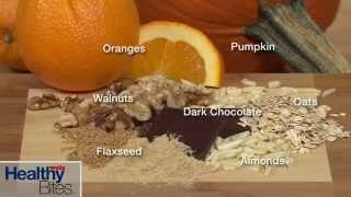 Pumpkin Spice Cookies With Orange Glaze