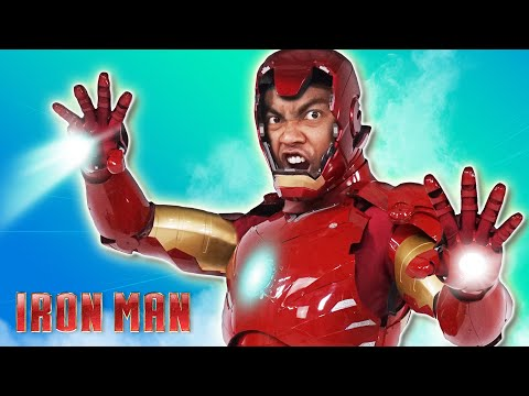 Unboxing a $10,000 Real Life IRON MAN Suit (Avengers End Game Fortnite)