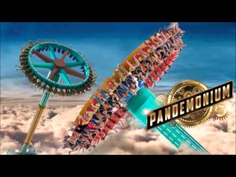 Lady Pop - Can Lady Pop Take On The New Pandemonium Roller Coaster  At SixFlags?