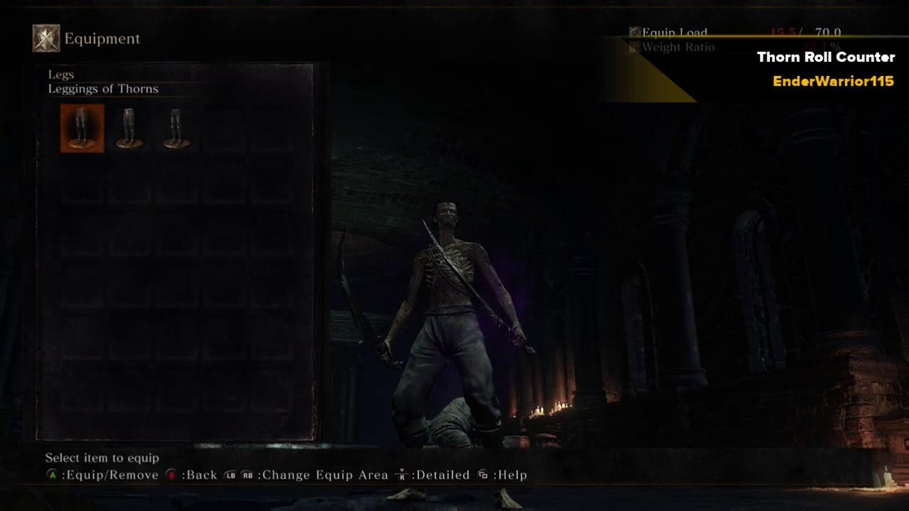Thorn armor + Roll + Face Fucker = Counter!?