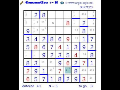 consecutive N argiomaster 20140121