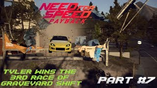 Tyler wins the 3rd race of Graveyard Shift (NFS Payback Gameplay Part #7)