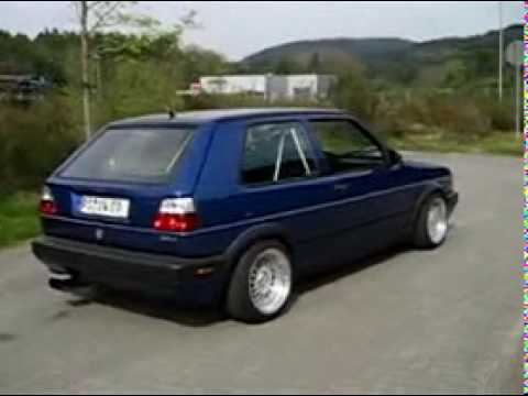 Golf 2 G60 - VW 89 - YouTube