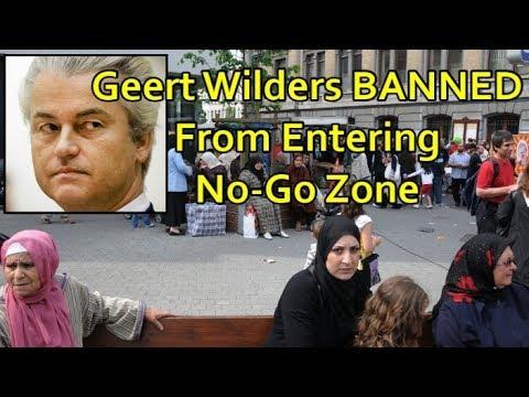 Geert Wilders BANNED From Entering Belgian No-Go Zone