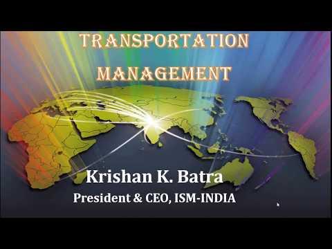 Webinar on Transportation Management