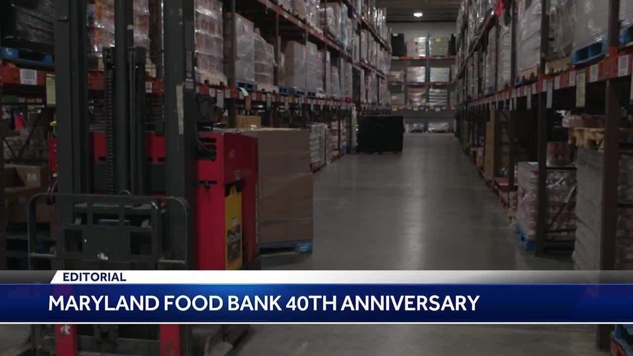 Maryland Food Bank 40th Anniversary