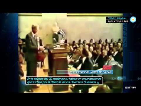 Archivo histórico - Perez Esquivel recibe el Nobel de la Paz (1980)