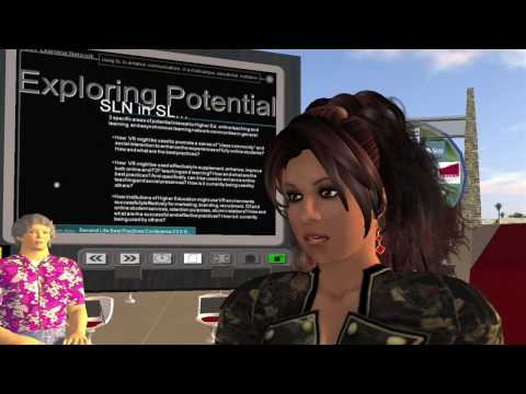 SUNY (State University of New York): SUNY Learning Network in Second Life® Part 3 of 4 (HD720p)