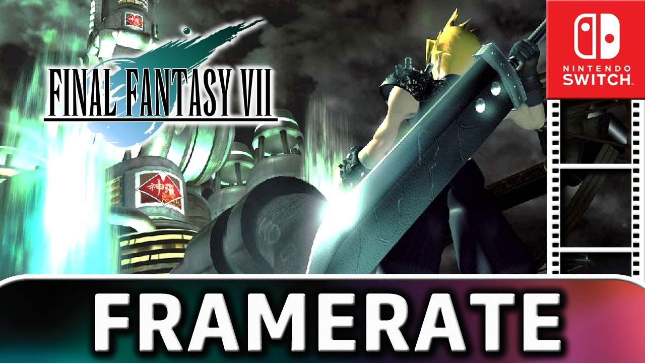 Final Fantasy VII | Frame Rate TEST on Nintendo Switch