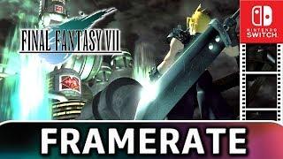 Final Fantasy VII | Frame Rate TEST on Nintendo Switch
