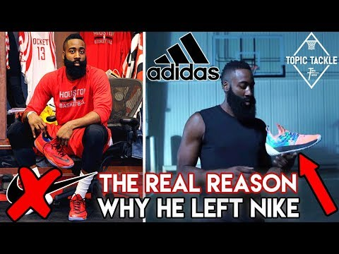 How Adidas Succeeded in Getting James Harden to leave Nike