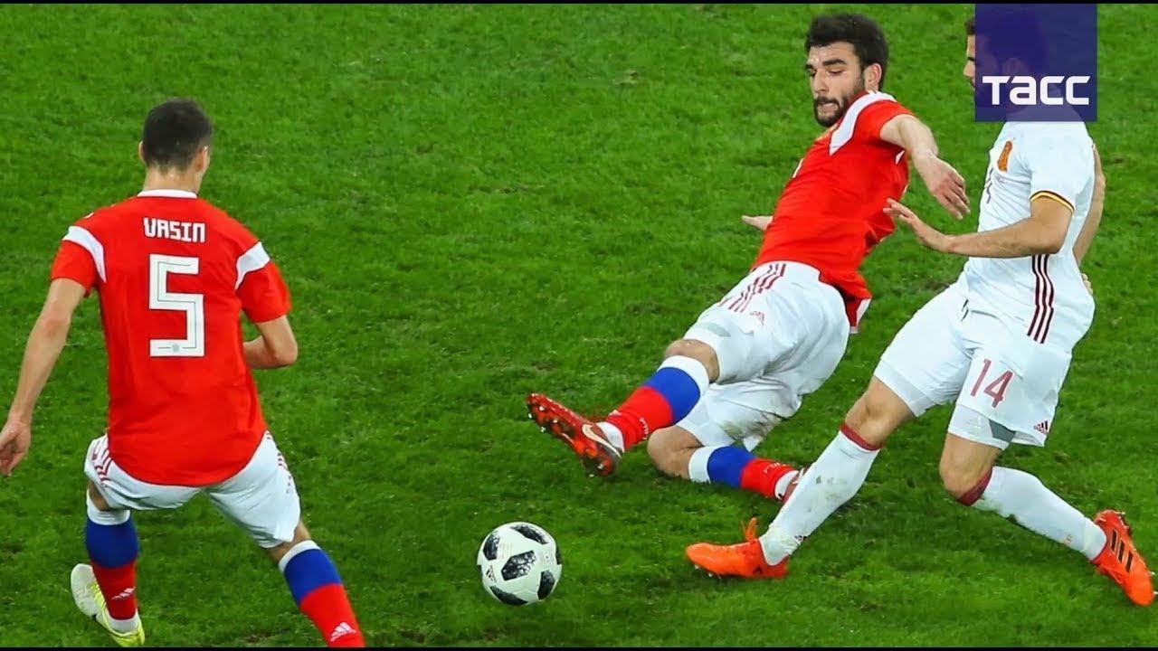 Вчерашний футбол испания россия