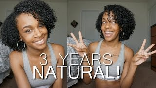 its my nappiversary 3 years natural big chop 2?