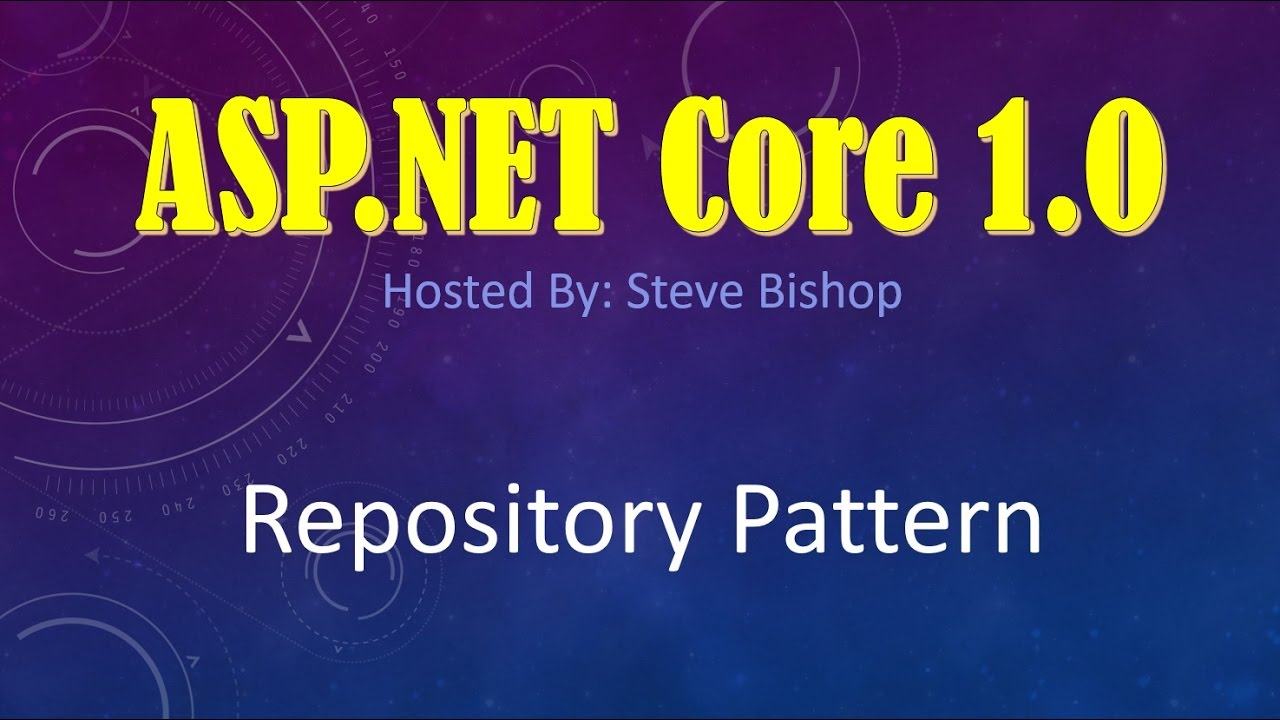 How to create web api in asp net core mvc using entity -  Asp Net Core 1 0 Mvc Repository Pattern Youtube