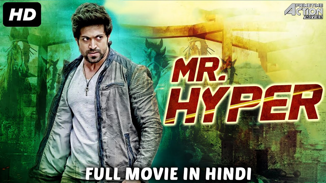MR HYPER - Hindi Dubbed Full Action Romantic Movie | Yash & Radhika Pandit | South Indian Movies
