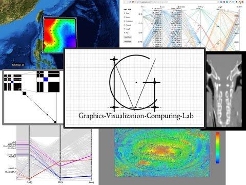 Visualization Projects @ Graphics-Visualization-Computing Lab
