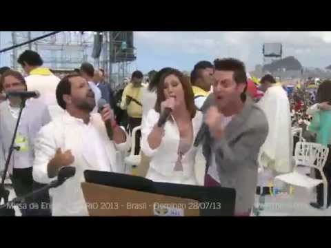 Axel, Soledad Pastorutti y Martín Valverde Nadie te ama como yo JMJ Río 2013
