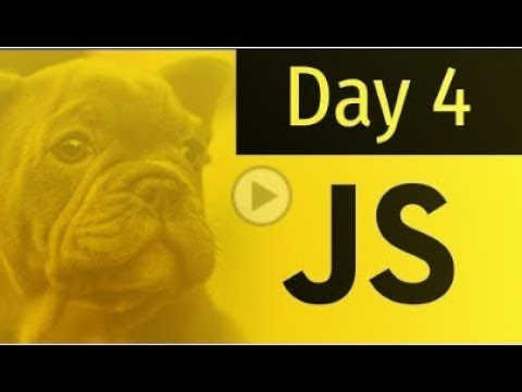 JavaScript tutorial no. 4, Day - 4  (Arrays) thumbnail
