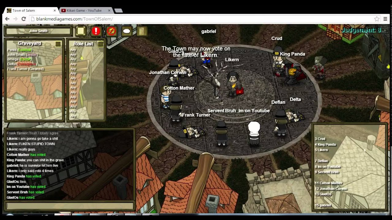 The Amazing Spam Jester Town Of Salem YouTube