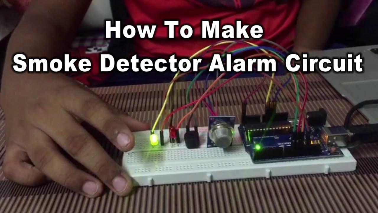 how to make smoke detector alarm circuit 1 wiring diagram sourcehow to make smoke detector alarm circuit in hindi youtube