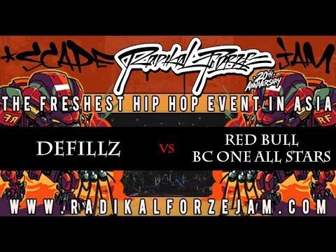 DEFICCZ vs RED BULL BC ONE ALL STARS | TOP 4 BBOY 4on4 | RADIKAL FORZE JAM 2018