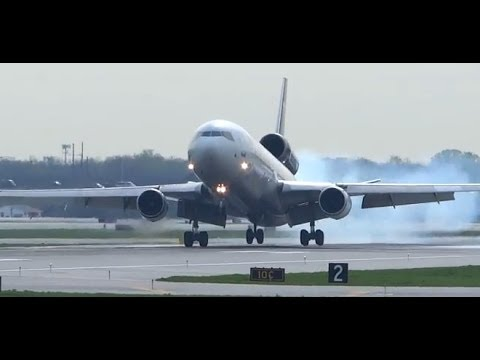 (HD) Kaleidoscope of Plane Spotting -  Chicago O