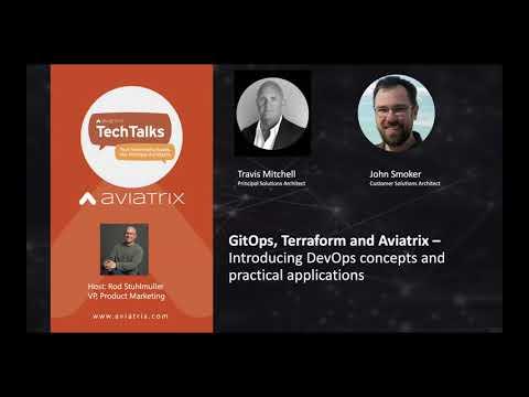 TechTalk | GitOps, Terraform, and Cloud Networking – DevOps concepts and practical applications