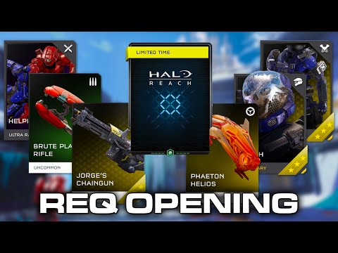 Halo 5: Guardians - Memories of Reach REQ Pack/Update Opening
