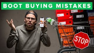 TOP 5 FOOTBALL BOOT BUYING MISTAKES TO AVOID
