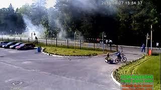 Видео-урок о предотвращении лесного пожара сотрудниками