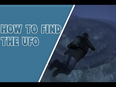 How to find the UFO Underwater Wreck in GTA V