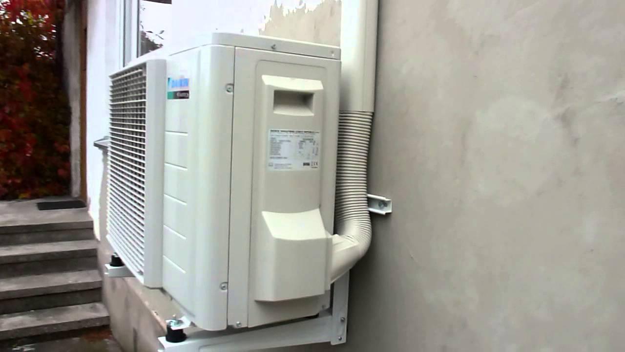 Daikin Ftxls35k Outdoor Unit Youtube