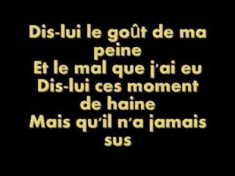 Dis lui - Roch Voisine lyrics